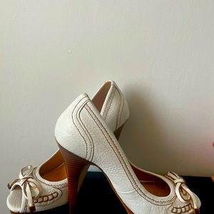 Zara heel leather